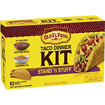 OLD EL PASO STAND & STUFF TACO DINNER KIT 8.8 oz