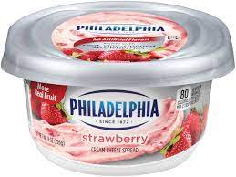 PHILADELPHIA STRAWBERRY CREAM CHEESE 7.5 OZ