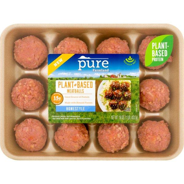 PURE FARMLAND MEATBALL HOMESTYLE 16 OZ***SHIP TO ORDER BY NOON FRIDAY NOV 13th. ARRIVES FOR DELIVERY MON NOVEMBER 23rd***