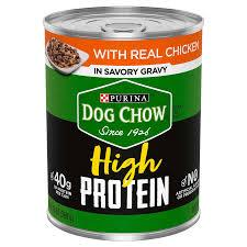 PURINA DOG CHOW HIGH PROTEIN CHICKEN 13 OZ 12 COUNT***SHIP TO ORDER BY NOON ON MONDAY'S ARRIVING THE FOLLOWING MONDAY FOR DELIVERY***