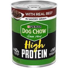 PURINA DOG CHOW HI PROTEIN BEEF 13 OZ 12 COUNT***SHIP TO ORDER BY NOON ON MONDAY'S ARRIVING THE FOLLOWING MONDAY FOR DELIVERY***