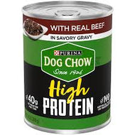 PURINA DOG CHOW HI PROTEIN BEEF GRAVY 13 OZ 12 COUNT***SHIP TO ORDER BY NOON ON MONDAY'S ARRIVING THE FOLLOWING MONDAY FOR DELIVERY***