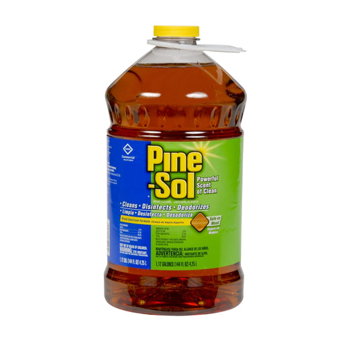 Pine-Sol Concentrated All-Purpose Cleaner & Disinfectant, Liquid, Deodorizer, Pine Scent, 144 Fl Oz