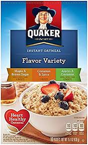 QUAKER INSTANT FLAVOR VARIETY PACK 14 OZ
