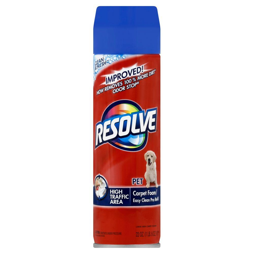 RESOLVE PET FOAM CARPET CLEANER 22 OZ***SHIP TO ORDER BY EVERY SUNDAY ARRIVES THE NEXT WEEK'S TUESDAY FOR DELIVERY***