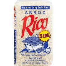RICO LARGE GRAIN RICE 3 LB