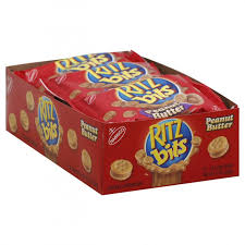 RITZ BITS PEANUT BUTTER SANDWICHES 1 OZ 12 CT