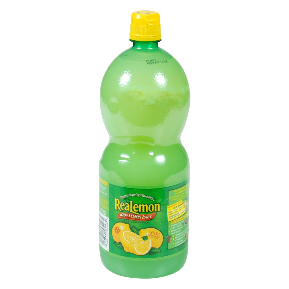 Realemon Lemon Juice, Shelf-Stable, 48 Fl Oz