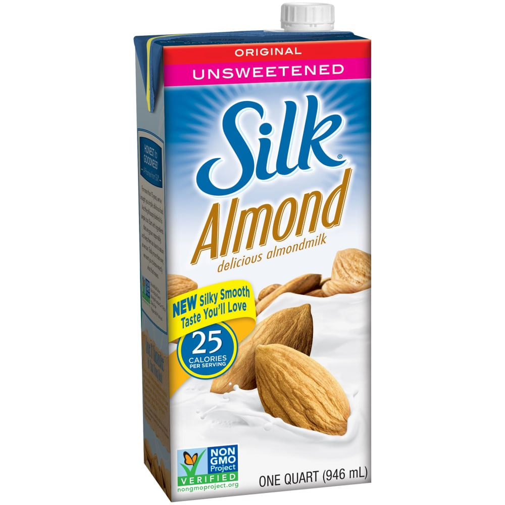 SILK ALMOND ORIGINAL UNSWEETENED 32 OZ