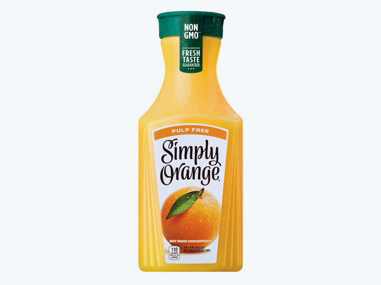 SIMPLY ORANGE ORIGINAL PULP FREE 52 OZ