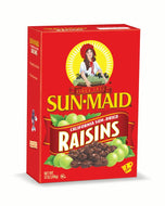 SUN-MAID CALIFORNIA DRIED RAISINS 12 oz