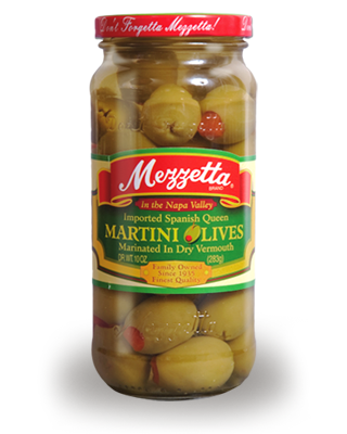 Mezzetta Spanish Queen Martini Olives Marinated  10 oz