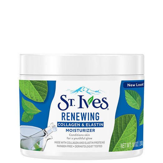 St. Ives Renewing Collagen Elastin Facial Moisturizer 10 oz