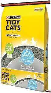 TIDY CATS GLADE TOUGH ODOR LITTER 20 LB BAG***SHIP TO ORDER BY NOON ON MONDAY'S ARRIVING THE FOLLOWING MONDAY FOR DELIVERY***
