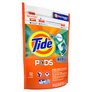 TIDE LIQUID PODS 4 IN 1 SPRING RENEWAL W/ FEBREEZE 32CT