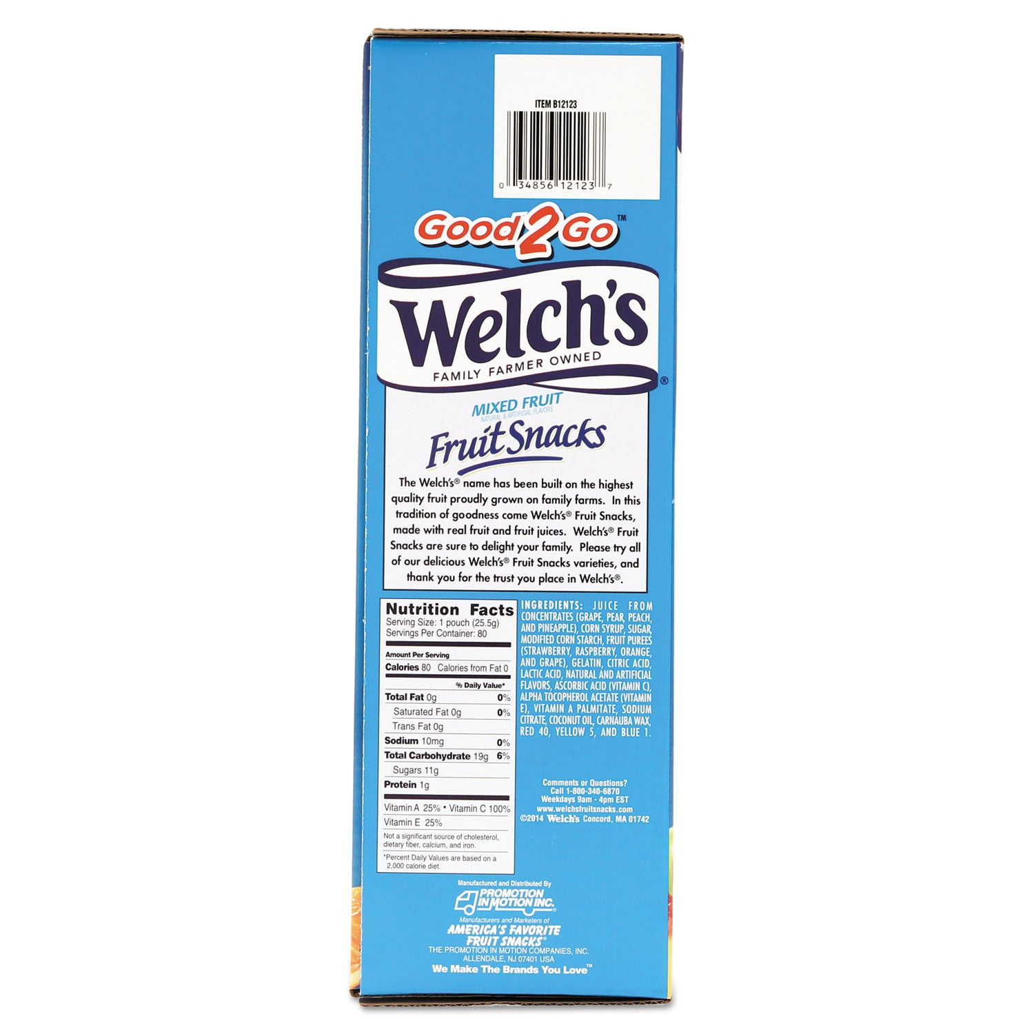 Welch's Fruit Snacks 40 ct .9 oz Packs