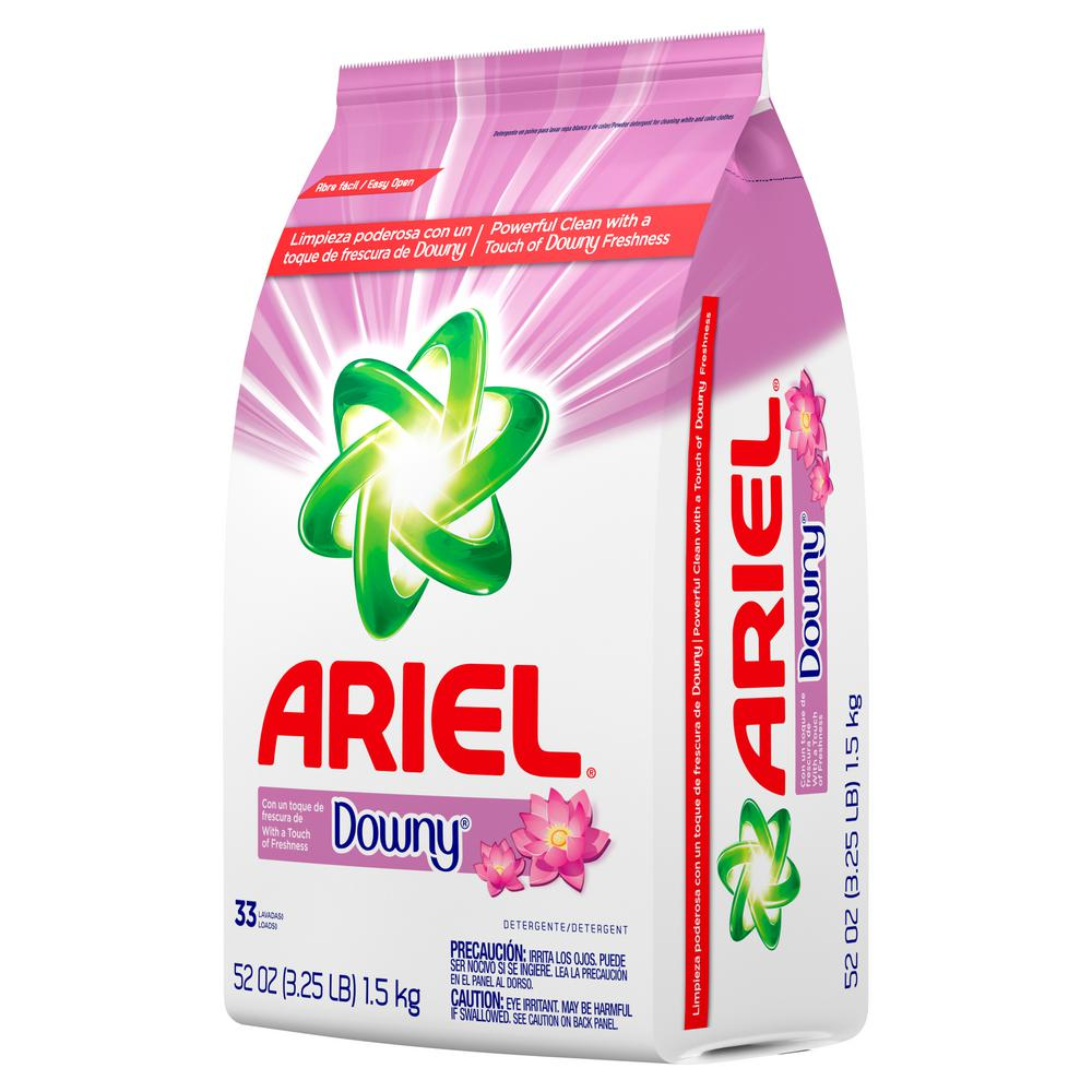 ARIEL APRIL POWDER FRESH DETERGENT W/ DOWNY 52 OZ