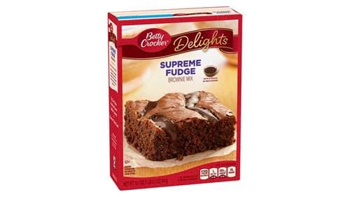 Betty Crocker Supreme Fudge Brownie Mix, 19.1 oz