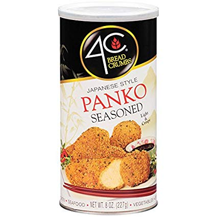 panko seasoned bread crumbs 8 oz
