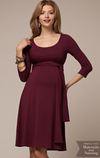 2-in-1 Maternity/Nursing Evening Gown