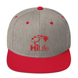 HiLife Hat Snapback Basics Fire