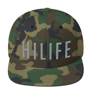 HiLife Hat Snapback Caps Lock Grey
