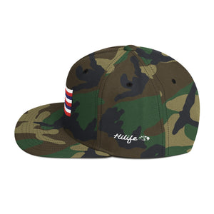 HiLife Hat Snapback Flag