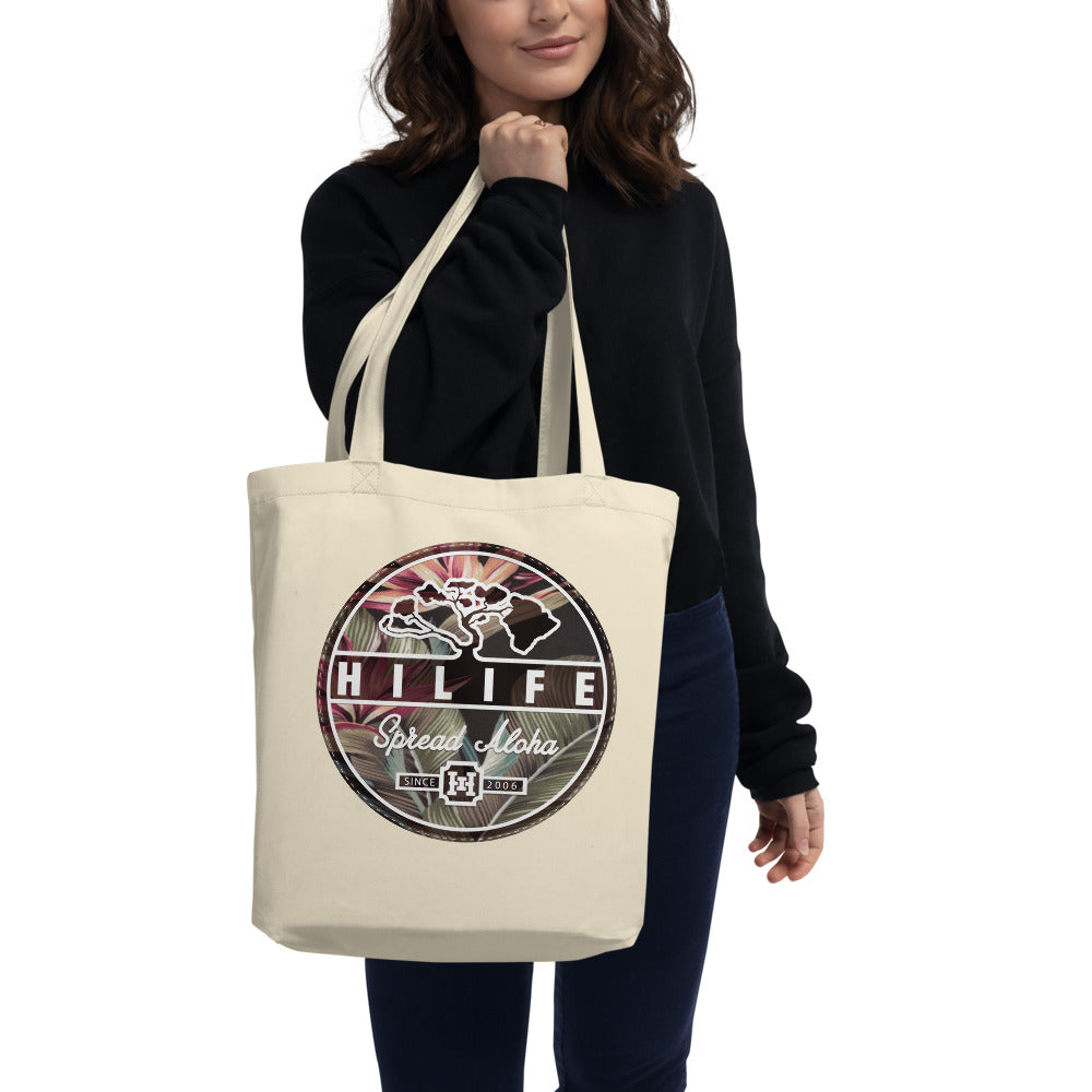 HiLife Eco Tote Bag Aloha Circle