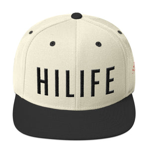 HiLife Hat Snapback Caps Lock Black
