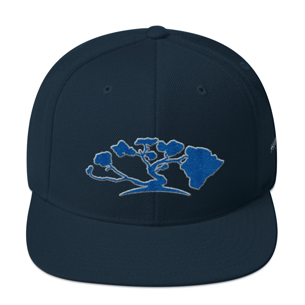 HiLife Hat Snapback Tree Arch Blue