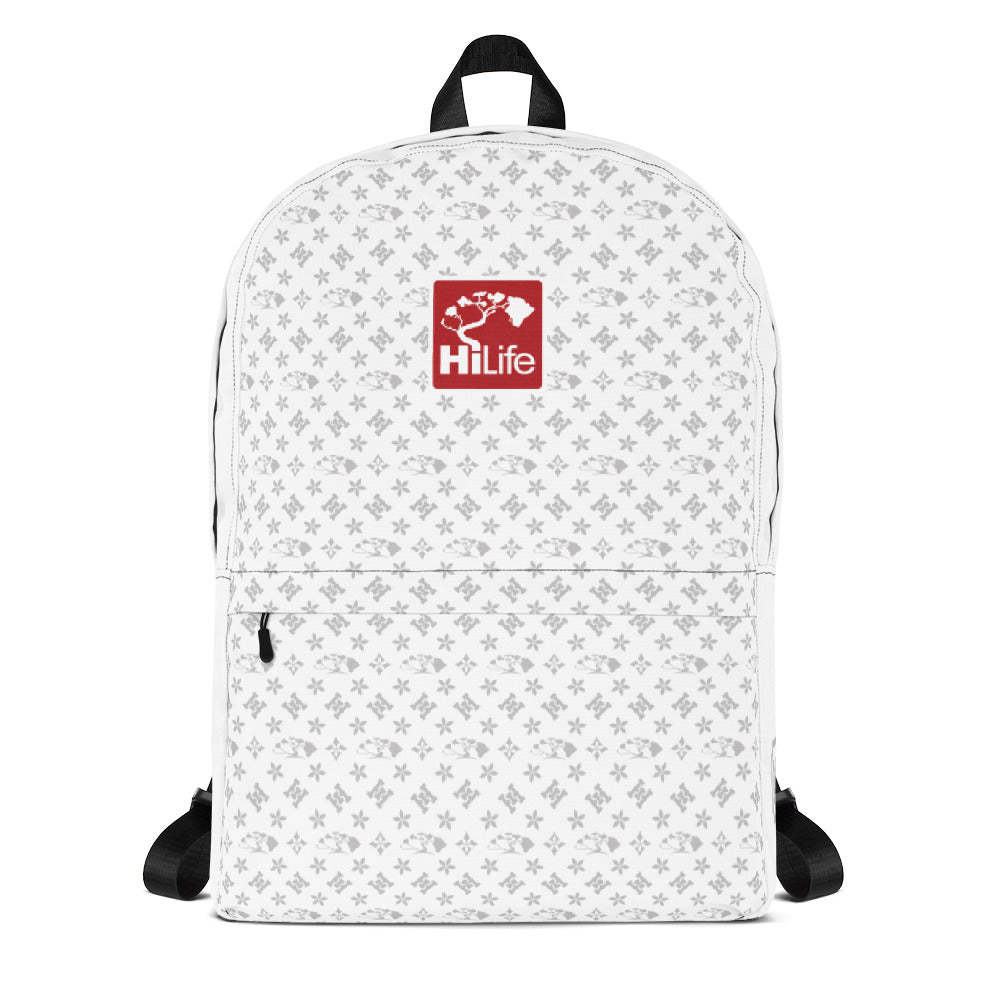 HiLife Backpack Whiteout