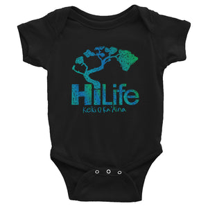 HiLife Infant Bodysuit Crayon Ocean