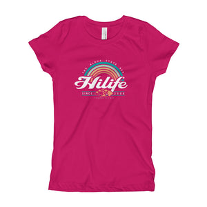HiLife Girl's T-Shirt Rainbow
