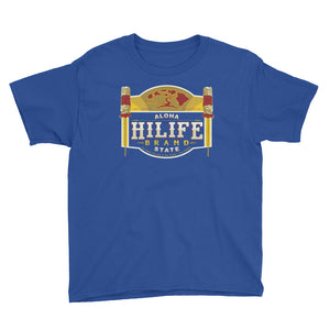 HiLife Youth T-Shirt Kāhili