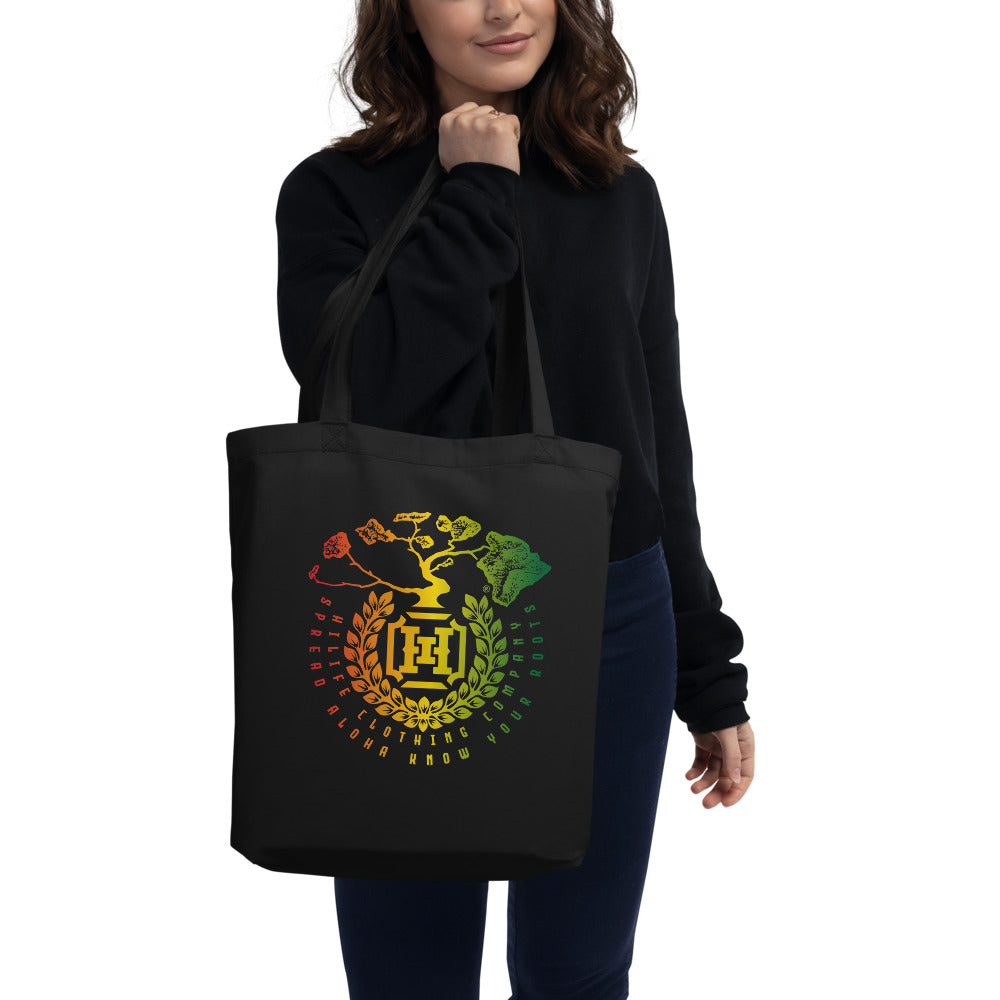 HiLife Eco Tote Rasta Shield