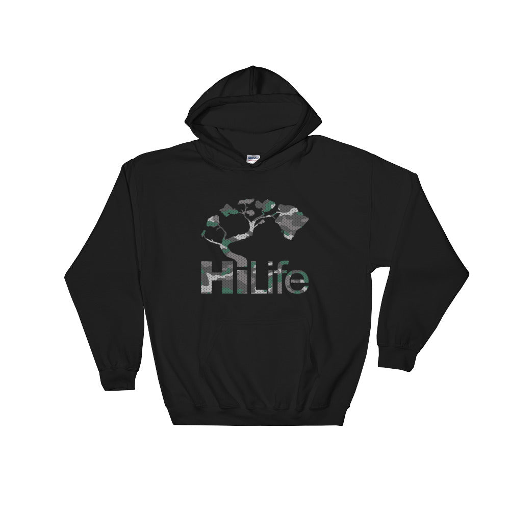 HiLife Hooded Sweatshirt Basic Camo