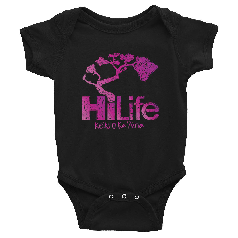 HiLife Infant Bodysuit Crayon Purple