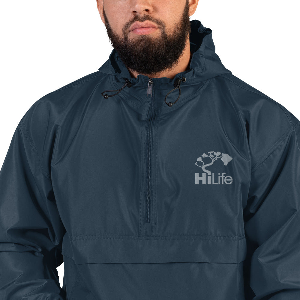HiLife Packable Jacket Embroidered