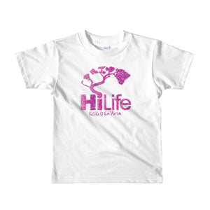 HiLife Kids T-Shirt Crayon Purple