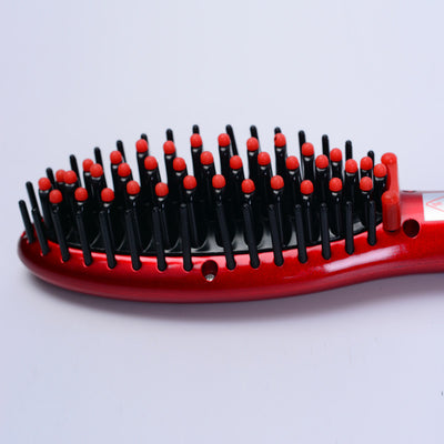 Professional Electric Brush Hair Straightener