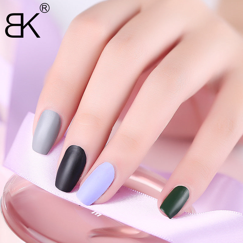 Satin Frosted Quick Dry Matte Long Lasting Nail Polish - 20 Colors ...