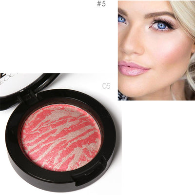 Focallure Face Bronzer Highlighter Contour Blush - 6 Colors