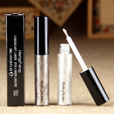 Long Lasting Glitter Liquid Eyeliner  - 8 Color Glitter