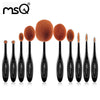 MSQ Professional Oval Foundation Makeup Brush Brush Set - Choice of 3 Sets