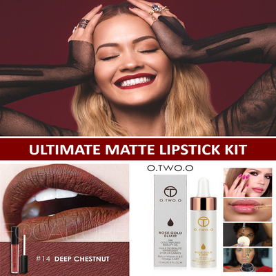 Matte Liquid Lipstick Kit