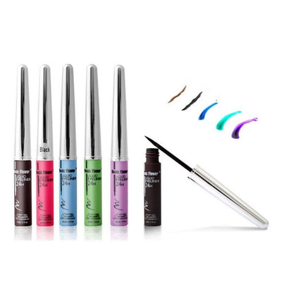 Waterproof long last Liquid Eyeliner - 5 Colors