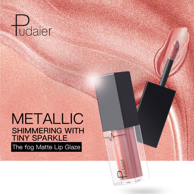 PUDAIER 24 Color Liquid Suede Metallic Matte