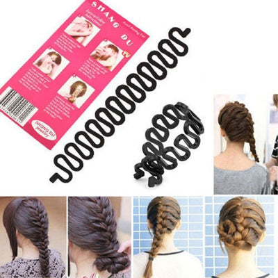 Roller Hair Braiding Tool
