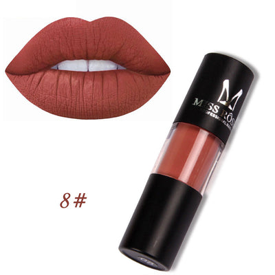 Miss Rose Matte lipstick - Waterproof Moisturizer liquid lipstick - 12 colors