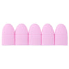 10 Pcs Gel Art Nail Polish Remover - Silicone Soaking Caps